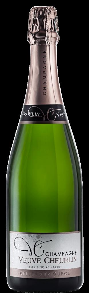 Champagne Veuve Cheurlin Carte noire