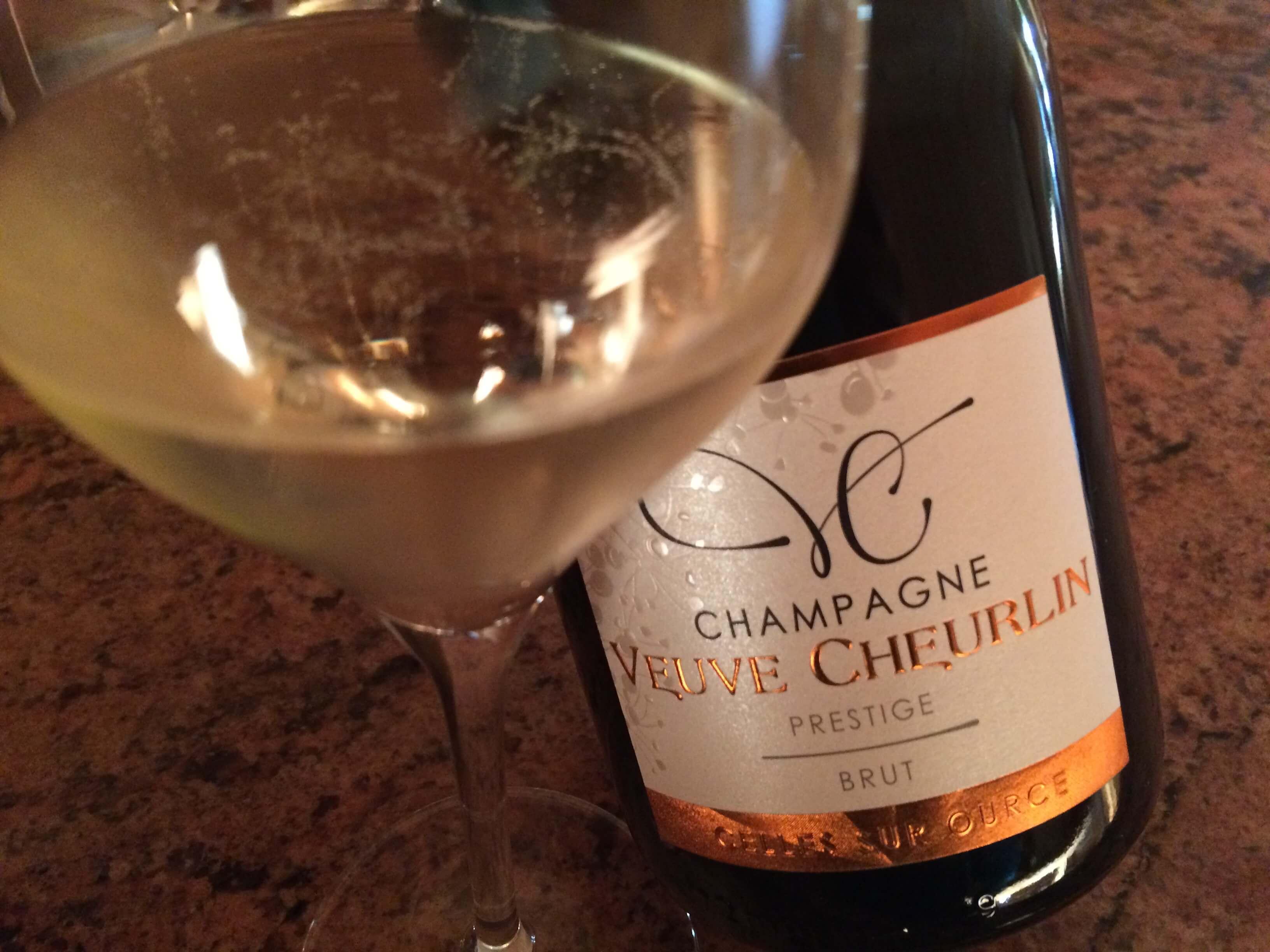 Champagne Veuve Cheurlin - cuvée Brut Prestige