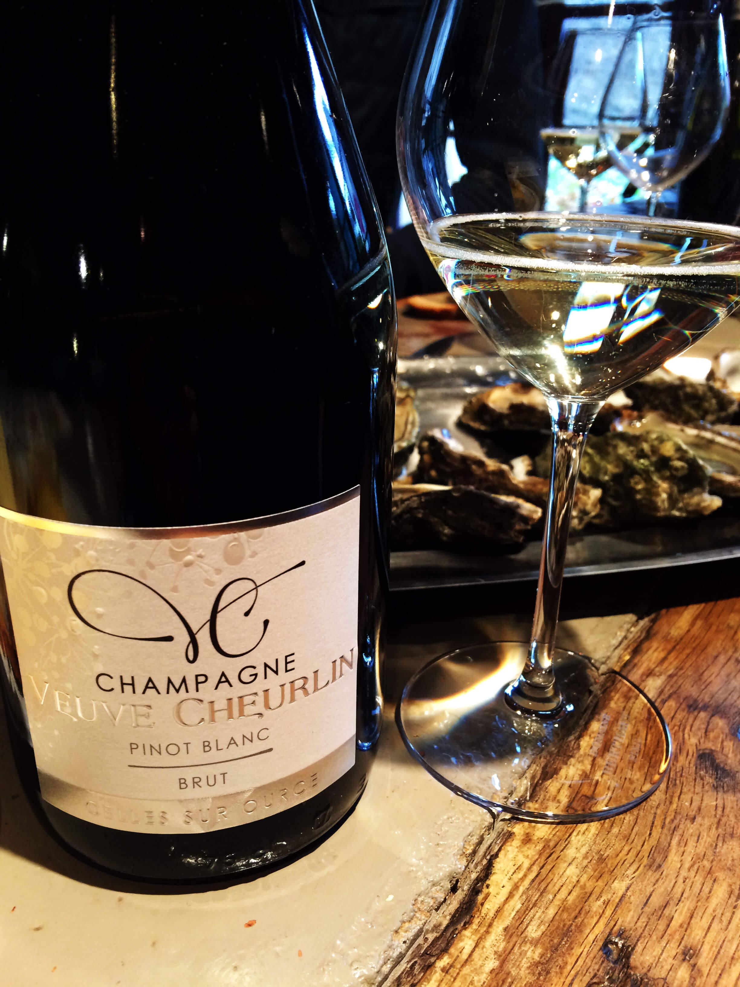 Champagne Veuve Cheurlin - cuvée Pinot Blanc