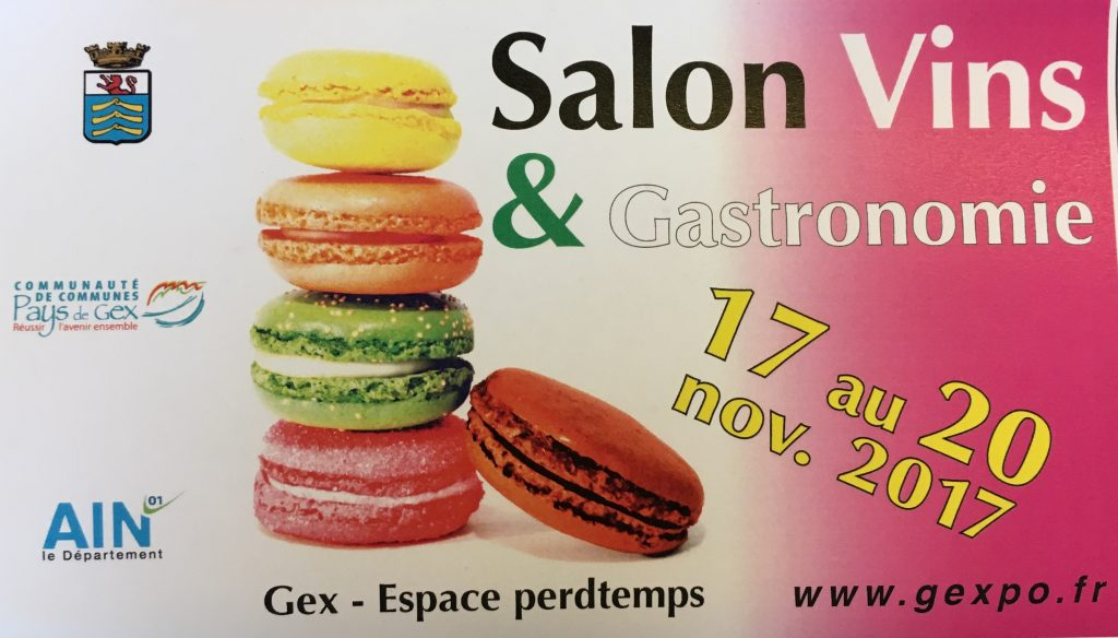 Salon vins gastronomie gex champagne veuve cheurlin for Salon de la gastronomie brest 2017